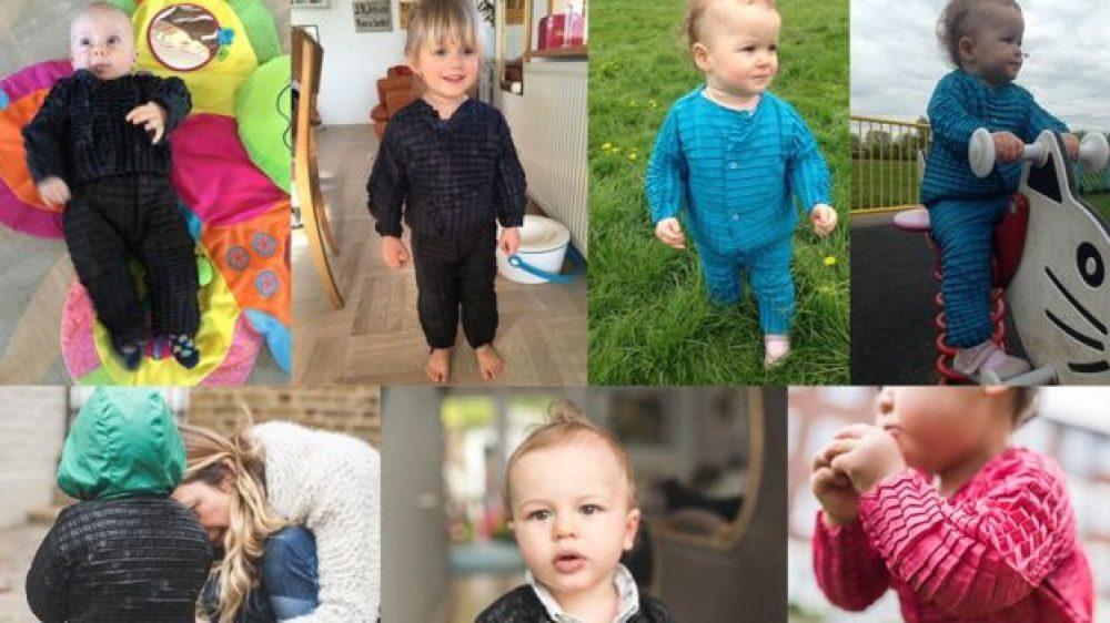 Petit Pli: La línea de ropa que se adapta al cuerpo de los niños mientras crecen