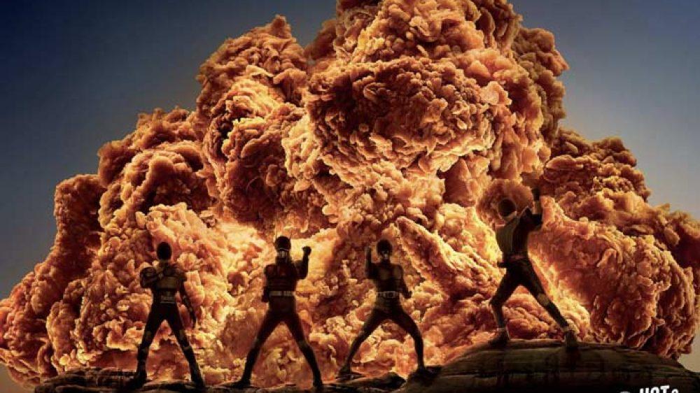 La nueva campaña hot de KFC