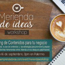 Merienda de Ideas Workshop