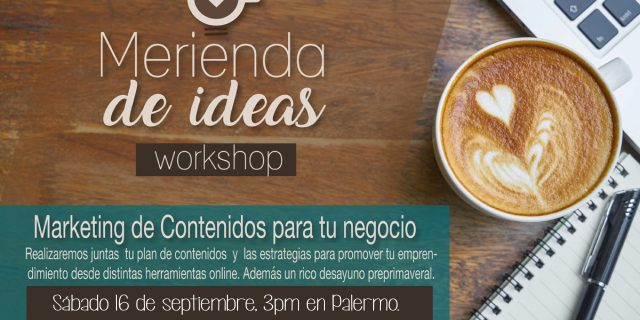 Merienda de Ideas Workshop