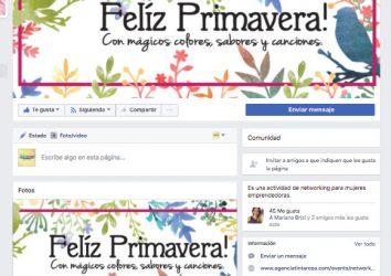 Primavera Facebook-post