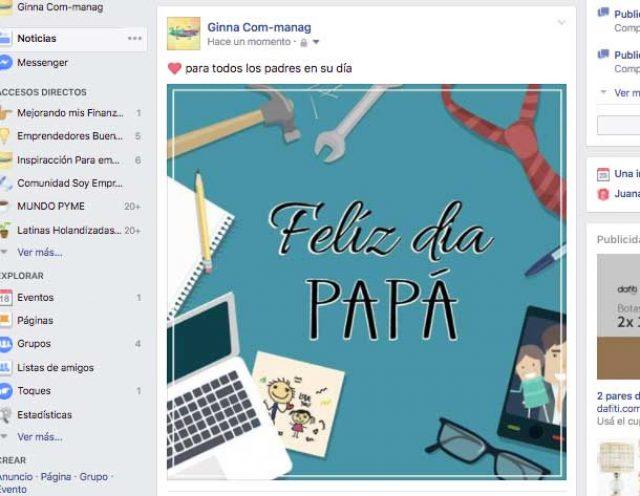 post para Día del Padre